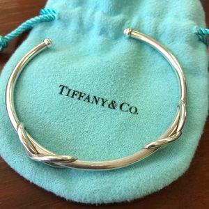 Tiffany infinity cuff bracelet